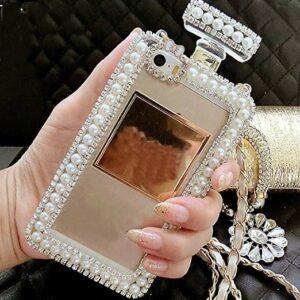 Luxury Jeweled Perfume Bottle Silicone Women's Phone Case Perfume & Body Mist PERFUME & FRAGRANCES a1fa27779242b4902f7ae3: 1|2