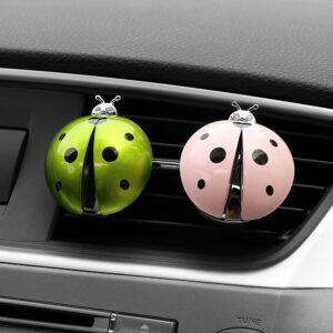 Car Ladybug Shaped Air Freshener Perfume Clips