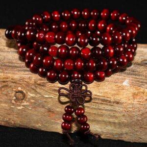 108 Beads Natural Sandalwood Meditation Bracelet Bracelets & Bangles JEWELRY & ORNAMENTS Pearls & Gemstones 8d255f28538fbae46aeae7: Black|Dark Red|Green|Red|White