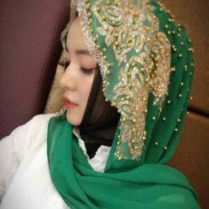 Fashion Muslim Women's Chiffon Inner Hijab FASHION & STYLE Men & Women Fashion Veils & Scarfs cb5feb1b7314637725a2e7: Beige|Black|Blue|Green|Light Green|Orange|Red|White|Yellow
