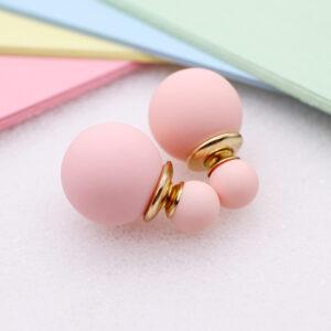 Women's Ball Stud Earrings